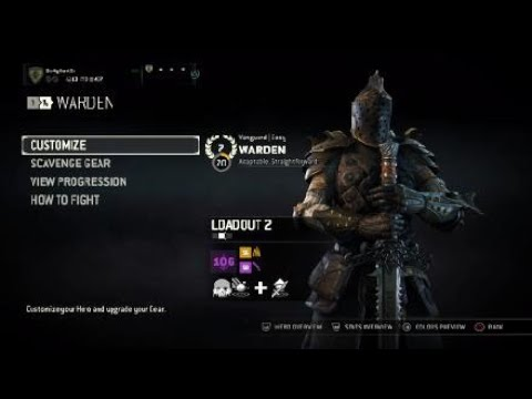 For Honor How To Make Apollyon Updated Youtube