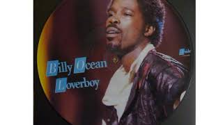 Billy Ocean -  Loverboy (Picture Disc Maxi Single)