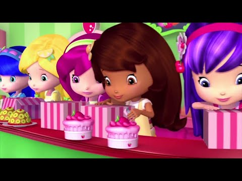 Strawberry Shortcake 🍓 Fish Out Of Water 🍓Berry Bitty Adventures | Girls Show