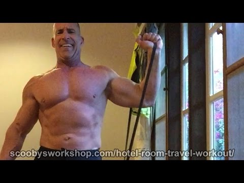 Hotel Room Travel Workout