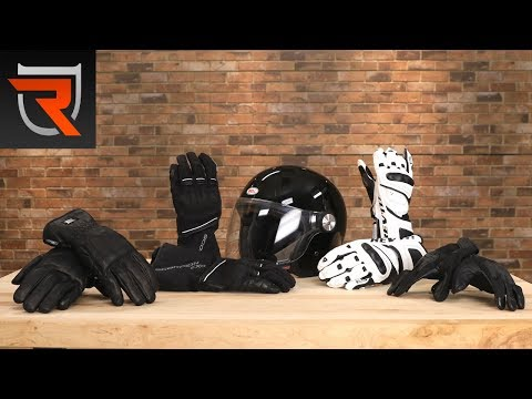 Motorcycle Glove Type Buyer's Guide Video | Riders Domain