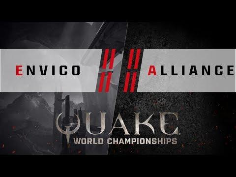 Quake - Envico vs. Alliance [4v4] - Quake World Championships - Ro8 EU Qualifier #1