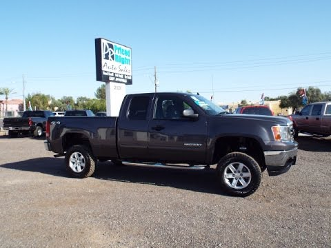 2011 gmc sierra 1500 4wd ext cab sle lifted 18120 youtube. Black Bedroom Furniture Sets. Home Design Ideas