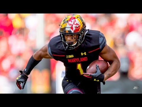 Best WR in the Big Ten || Maryland WR DJ Moore Career Highlights ᴴᴰ