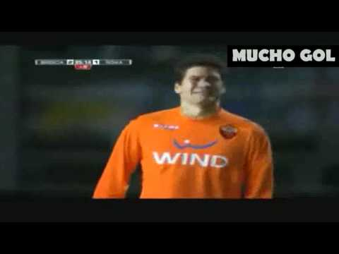 Roma goalkeeper is injured and cries of pain can not be replaced HD