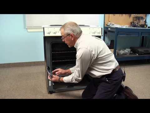 GE Range Repair – How to replace the Oven Door Hinge