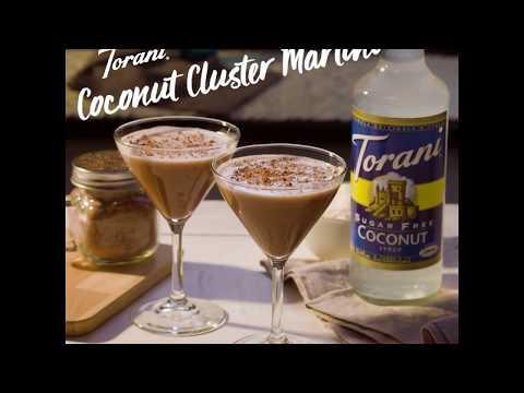 Torani Coconut Cluster Martini