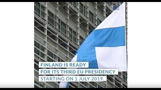 Start Of The Finland's Presidency Of The Council Of The European Union