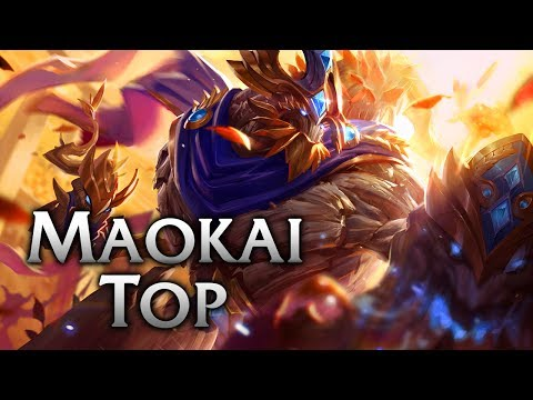 Victorious Maokai Top - League of Legends Commentary
