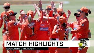 Scorchers go back to back in Adelaide | Rebel WBBL|05