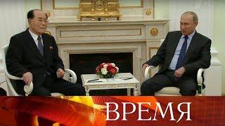 Владимир Путин провел сразу несколько встреч с прибывшими в Россию руководителями разных государств.