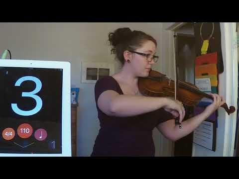Entrance of the Queen of Sheba Play Along - Violin 2