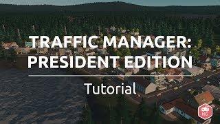 Cities Skylines:  Tutorial español — Traffic Manager: President Edition