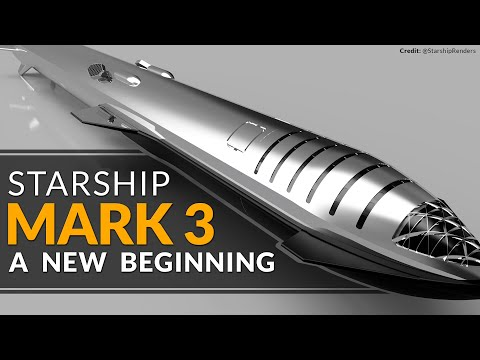 SpaceX Starship MK3