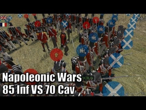 Napoleonic Wars - Notre carré tiendra-t-il le choc?