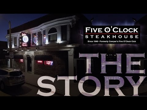 Everyone must stop by the Five O'Clock Steakhouse when visiting Milwaukee