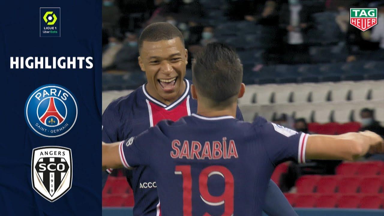 Download PARIS SAINT-GERMAIN - ANGERS SCO (6 - 1) - Highlights - (PSG - SCO) / 2020-2021
