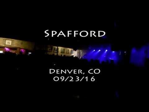 Spafford - Live at Cervantes' | Denver, CO | 09/23/16