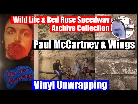 Album unwrapping: Paul McCartney & Wings Wild Life and Red Rose Speedway Archive Collection vinyl Mp3