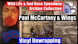 Baixar Album unwrapping: Paul McCartney & Wings Wild Life and Red Rose Speedway Archive Collection vinyl