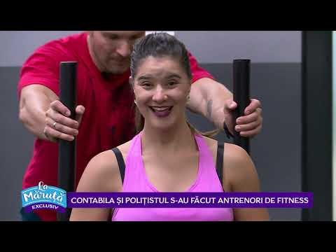 Contabila Si Politistul S-au Facut Antrenori De Fitness
