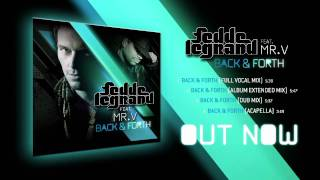 Fedde Le Grand ft. Mr V. - Back & Forth (Official Promo Video)