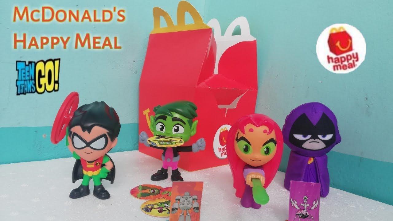 McDonald's Happy Meal Toys July 2019 - Teen Titans Go!