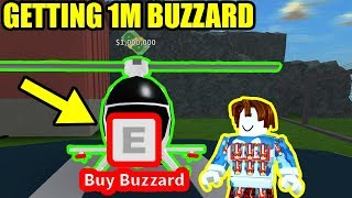 GETTING the BUZZARD [1 MILLION VEHICLE] | Roblox Mad City