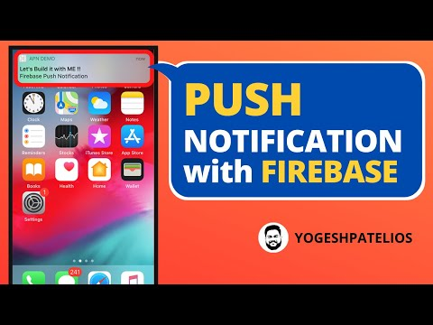 Swift 5 & Xcode 11 :- Push Notifications with Firebase iOS Hindi. thumbnail
