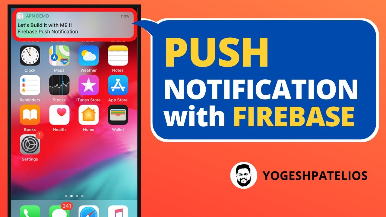 Swift 5 & Xcode 11 :- Push Notifications with Firebase iOS
