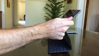 """Learning the Smart Keyboard fold from """"What's a Computer"""""""