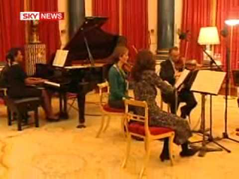 Condoleezza Rice Gives A Piano Recital For The Queen