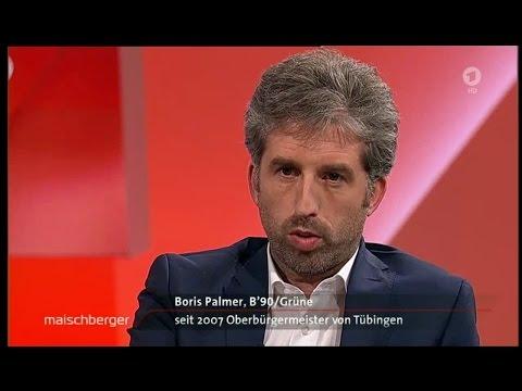 Flüchtlings-Talk: Alice Weidel #AfD & Boris Palmer #Grüne - Maischberger 07.12.16 - Bananenrepublik