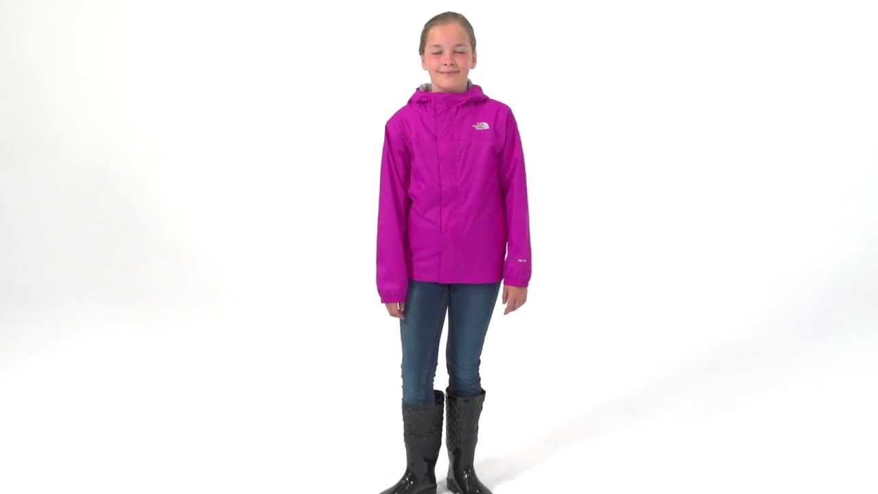 The North Face Girls&39 Zipline Rain Jacket - YouTube