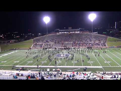 """Klein Forest High School Marching Band Performing """"Black Widow"""" in 720p60 HD"""
