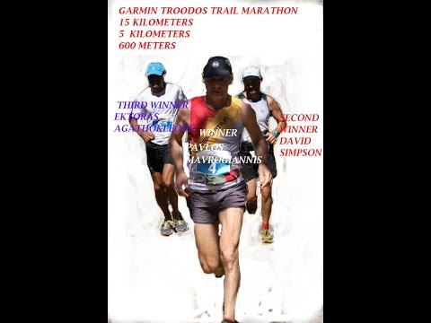 Garmin  cyprus Troodos Marathon -15 k.Ice Power Troodos Green Race