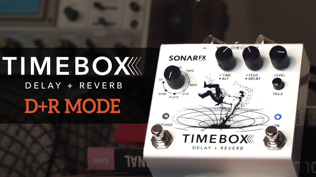 SonAr fx - Timebox Delay + Reverb - Modo D+R