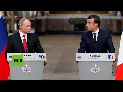 RT en Español: Putin sobre la supuesta injerencia rusa en las elecciones de Francia