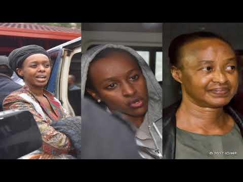 Polisi y'u Rwanda  yatanze amakuru mashya kuri Diane Rwigara na bamwe mu bagize umuryango we