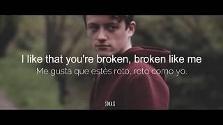 Broken Lovelytheband lyrics sub español Video