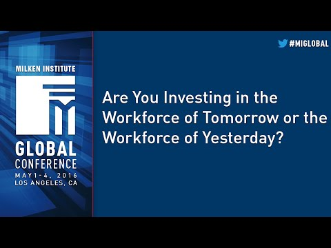 Are You Investing in the Workforce of Tomorrow or the Workforce of Yesterday?