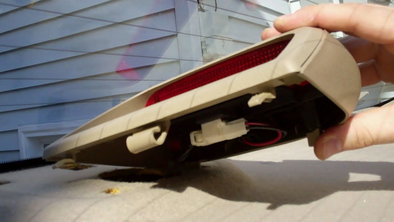 How To Remove The 3rd Brake Light On A 1999 Nissan Altima