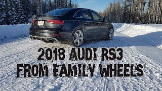 2018 Audi RS3 review from Family Wheels