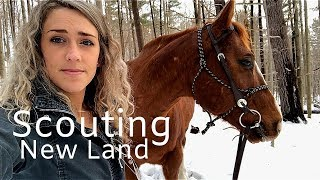 Horseback Ride to Scout Out a New Bushcraft Spot