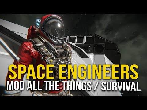 Space Engineers Sunday -  Battle Barge Building #40