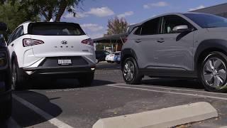 Hyundai NEXO Remote Parking Demo
