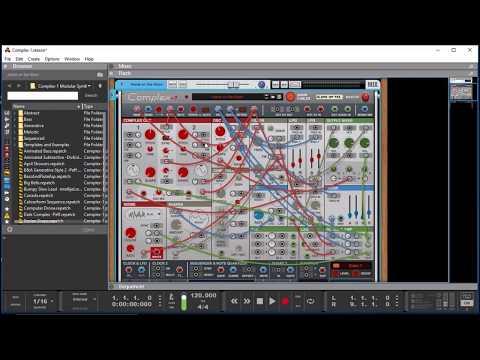 COMPLEX-1 Modular Synth for Propellerhead REASON - Preset Demo