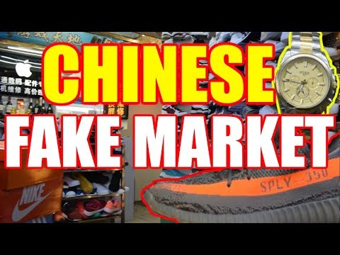 SHOPPING AT CHINESE FAKE MARKET! DONGMEN, SHENZHEN, CHINA! [China Au Pair Vlog #58]