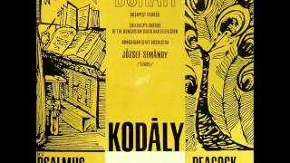 Antal Doráti conducts Zoltán Kodály: Peacock Variations (1969 vinyl LP)