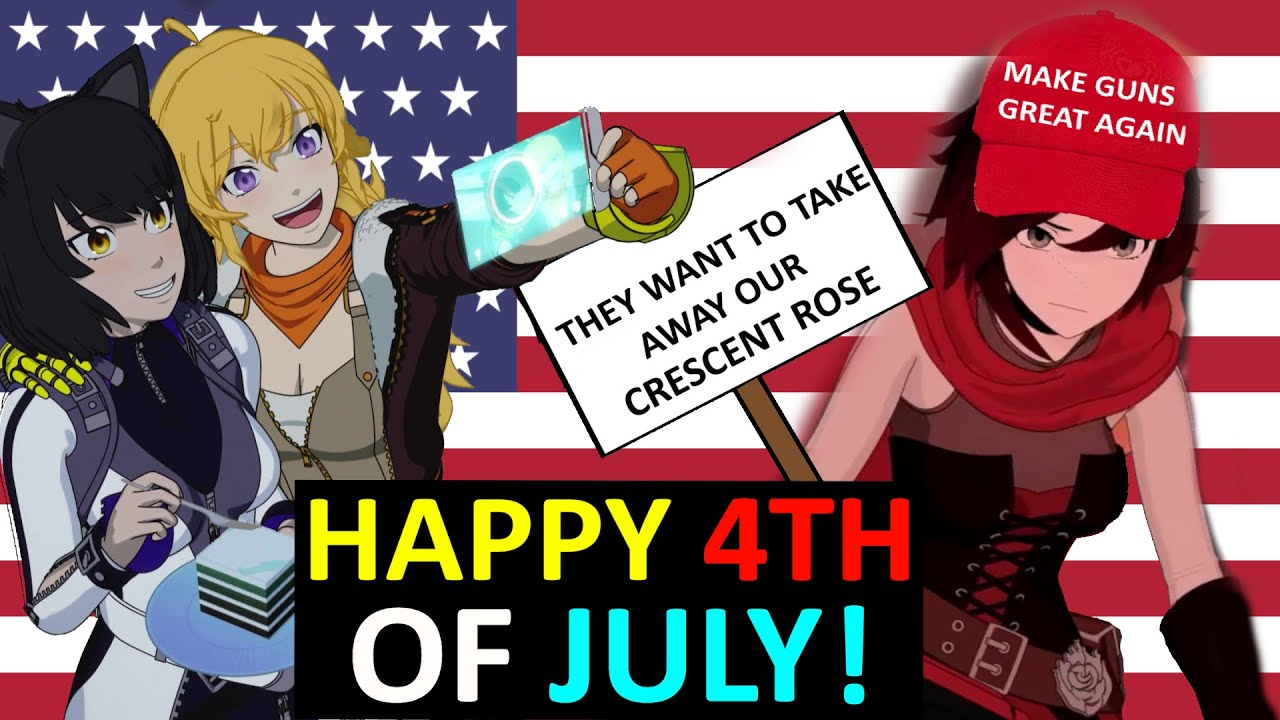 How RWBY Celebrates Being American